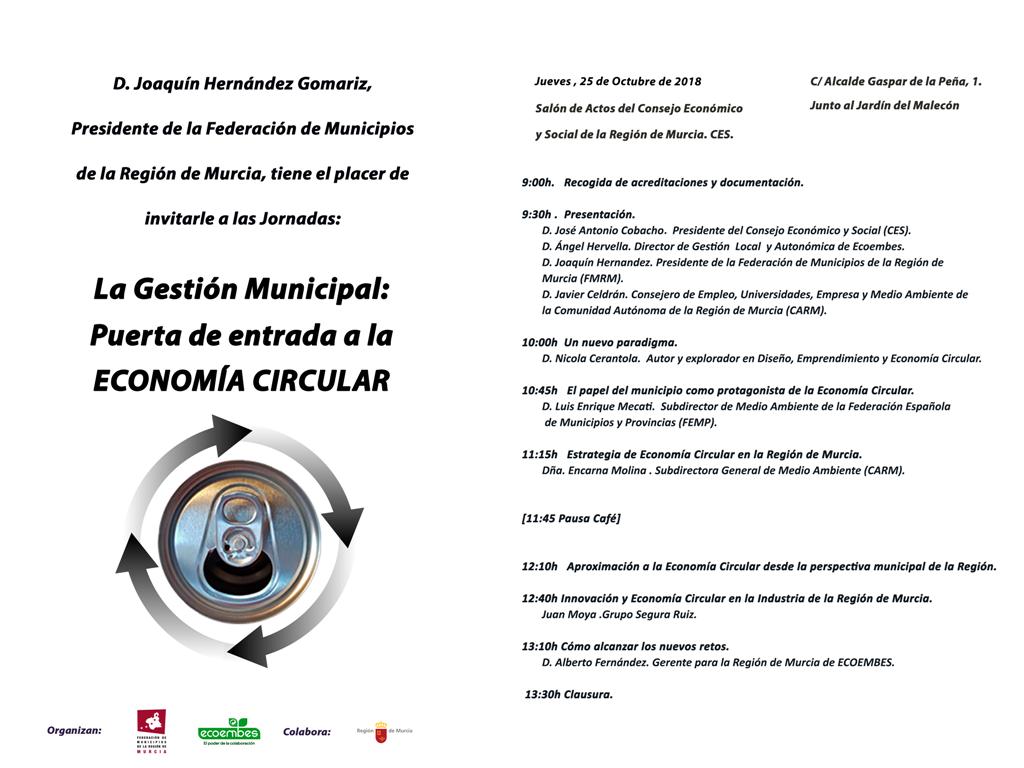 Gestión Municipal: Puerta de entrada a la Economía Circular